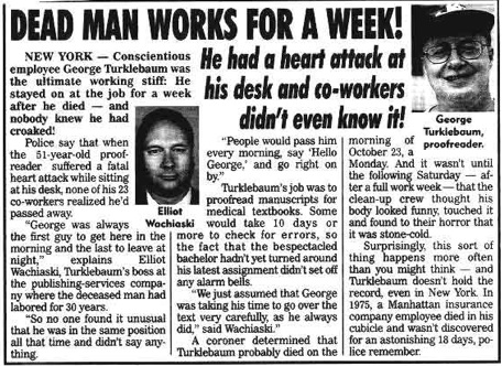 Weekley World News  - 5 de Diciembre ,2000.