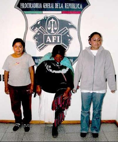 Jacinta Francisco Marcial, Alberta y Teresa